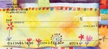 Quilt Inspired Americana Art Personal Checks