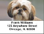 Lhasa Apso Puppy Address Labels