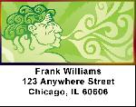 Rastaman Mania Address Labels