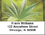 Legalize Marijuana - Weed Address Labels
