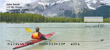 Serenity On The Kayak Personal Checks