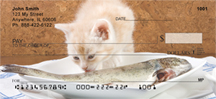 Cat Dreams Coming True Personal Checks