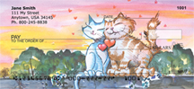 Purr-fect Love Personal Checks