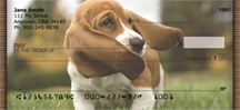 Basset Hound Puppy Personal Checks