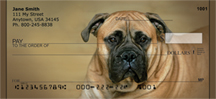 Bull Mastiff Personal Checks