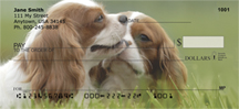 Cavalier King Charles Puppy Personal Checks