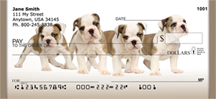English Bulldogs Personal Checks