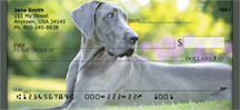 Blue Great Dane Personal Checks