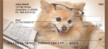 Smart Pomeranian Pooch Personal Checks