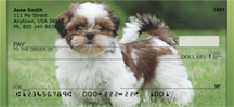 Shih Tzu Puppies Personal Checks