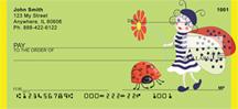 Lucky Ladybug Fairy Personal Checks