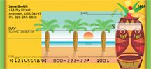 Tiki Beach Refreshments Personal Checks