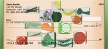 Framed Vegetables Personal Checks