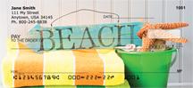 Beach Fun Personal Checks