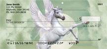 Unicorn In Moonlight Personal Checks