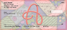 Shabby Chic Monograms - A Personal Checks