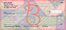 Shabby Chic Monograms - B Personal Checks