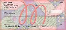 Shabby Chic Monograms - M Personal Checks