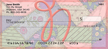 Shabby Chic Monograms - N Personal Checks