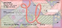 Shabby Chic Monograms - U Personal Checks