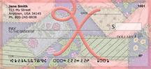 Shabby Chic Monograms - X Personal Checks