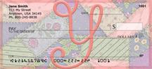 Shabby Chic Monograms - Y Personal Checks