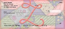 Shabby Chic Monograms - Z Personal Checks