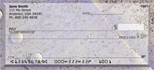 Golden Fairy Dust Personal Checks