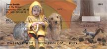 Rainy Day Friends Personal Checks