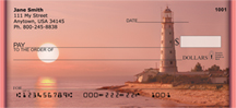 Lighthouses At Dusk Personal Checks