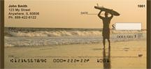 Surfing At Sundown Personal Checks