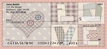 Love Quilt Personal Checks