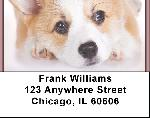 Pembroke Welsh Corgi Address Labels