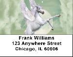 Unicorn In Moonlight Address Labels