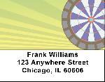 Darts And pool Address Labels
