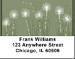 Magical Dandelion Wishes Address Labels