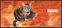 Cat Portrait Personal Checks