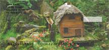 Mystical Fairy Homes Personal Checks