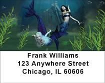 Mermaid Magic Address Labels