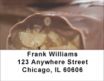 Candy Bar Heaven Address Labels