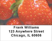 Strawberry Patch Address Labels