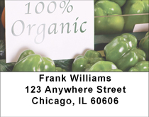 Totally Organic Address Labels