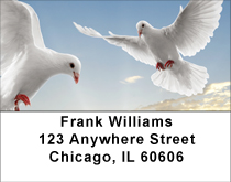 On The Wings Of A Dove Address Labels