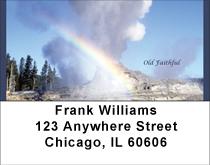 Old Faithful At Yellowstone Address Labels