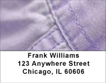 Colorful Denim Address Labels