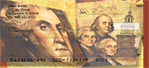Founding Fathers Personal Checks