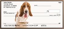 Adorable Bassets Personal Checks