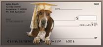 Basset Hound Fantasy Personal Checks