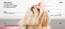 Pekingese Princess Personal Checks