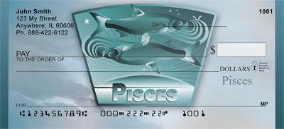 Pisces Personal Checks